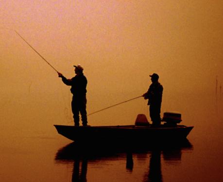 Fishing at Stonewall Lake