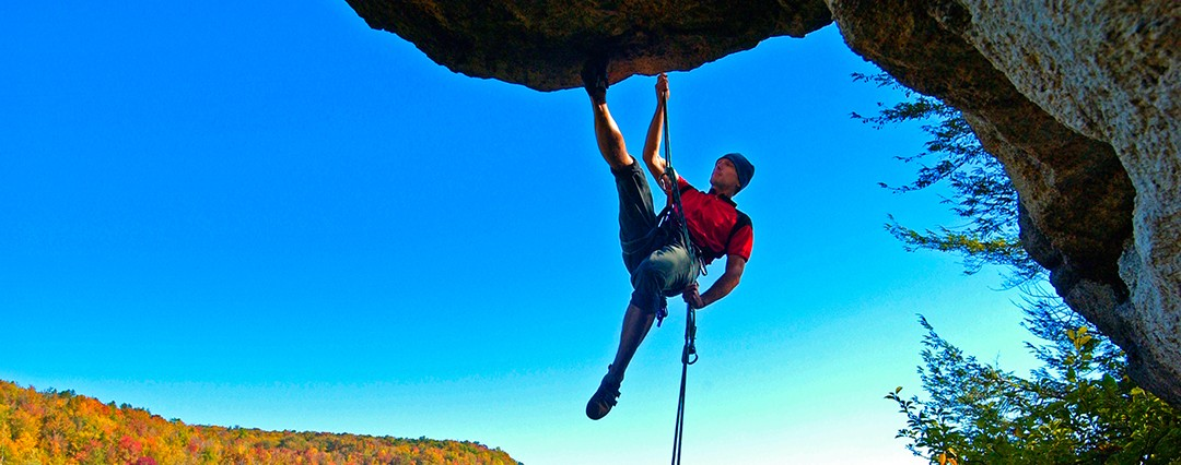 Psst: WV's off-the-beaten-path rock climbs image