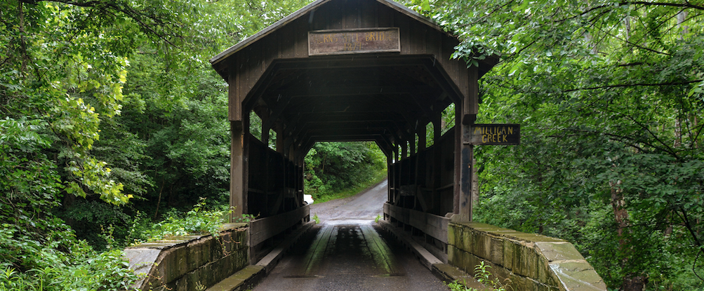 17 most scenic covered bridges in the WV countryside image