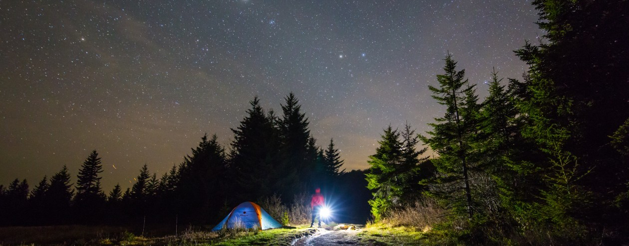 Sleep under the stars! The East Coast's finest stargazing image