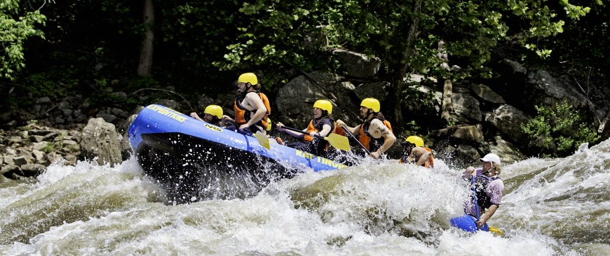 New River Gorge rafting, West Virginia