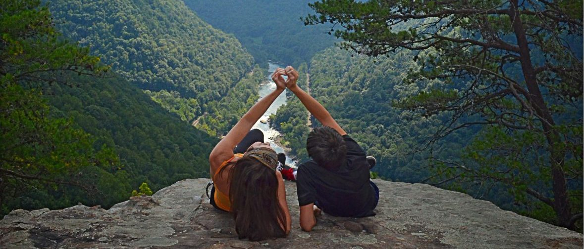 Couple at Beauty Mountain, West Virginia
