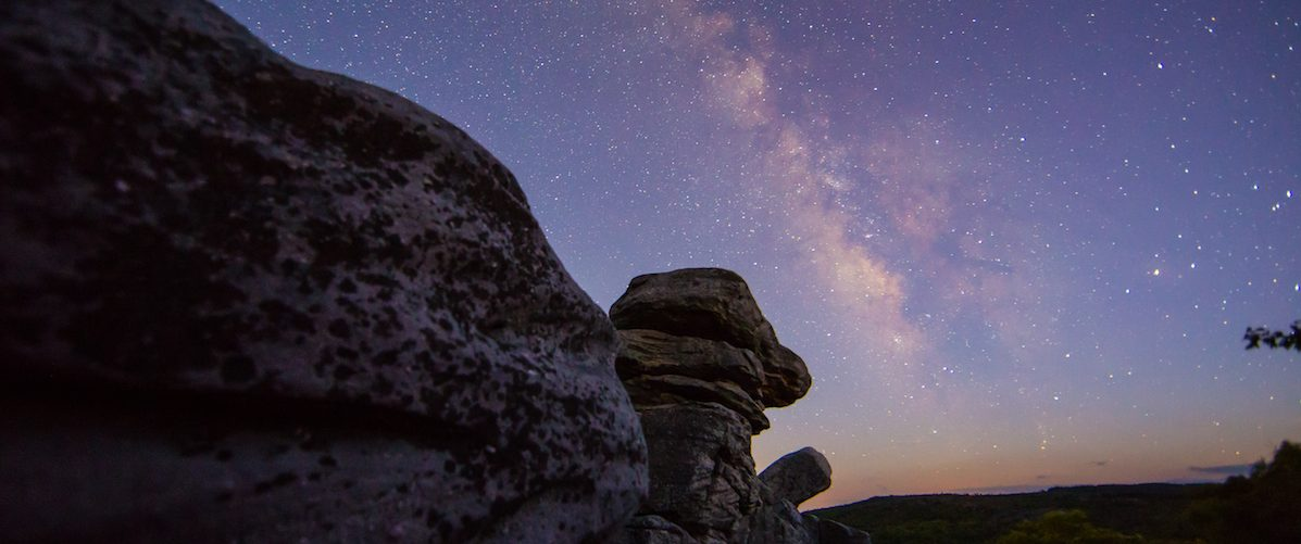 Dolly Sods at twilight, West Virginia