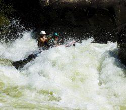 Pillow Rock kayaker, West Virginia