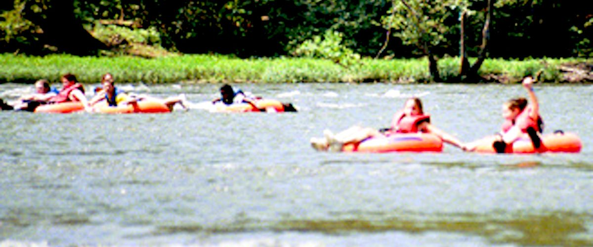 Tubing on the Potomac, West Virginia