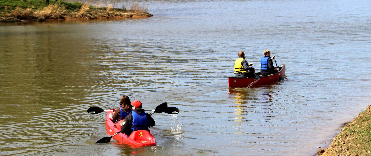 5 reasons to take the Coal River Walhonde Water Trail image