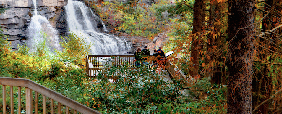 fall hikes in WV