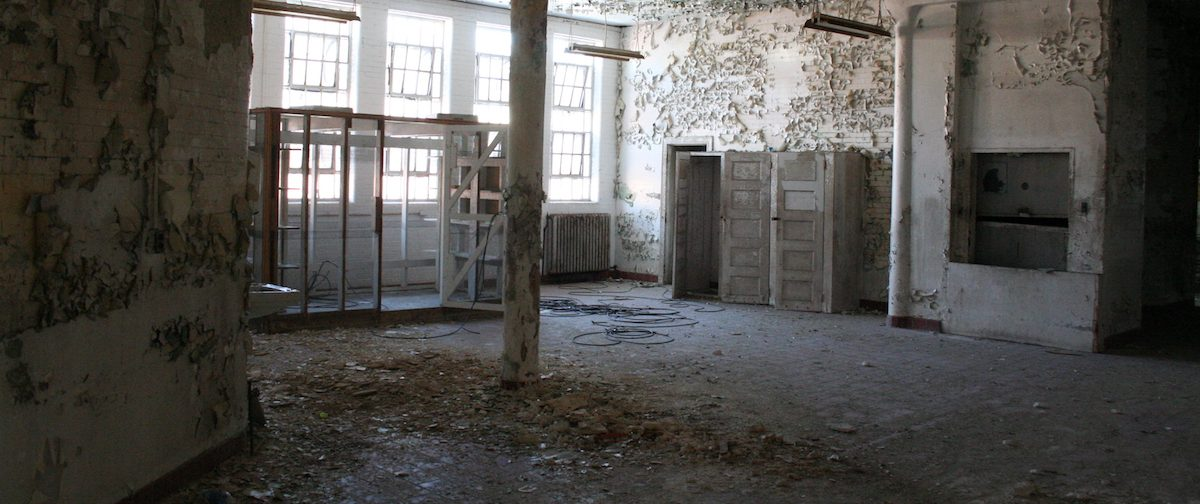 Interior of Trans-Allegheny Lunatic Asylum, WV