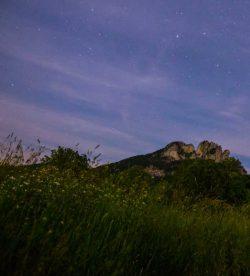 Seneca Rocks quartzite ridge, West Virginia