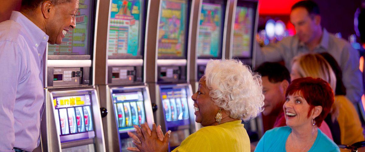 Gamblers at Hollywood Casino, West Virginia