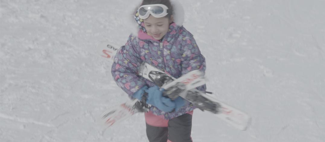 Ski gear trade-in program for growing kids!