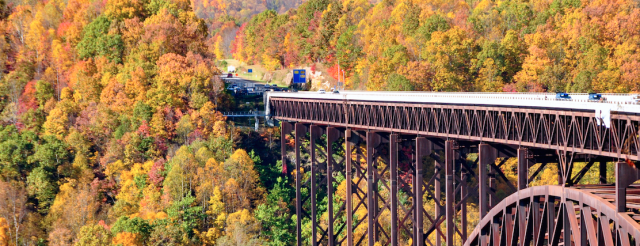 Award-winning destinations in West Virginia
