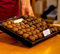 Truffles at DeFluri's Fine Chocolates, WV