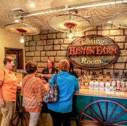 Heston Farm tasting room, WV