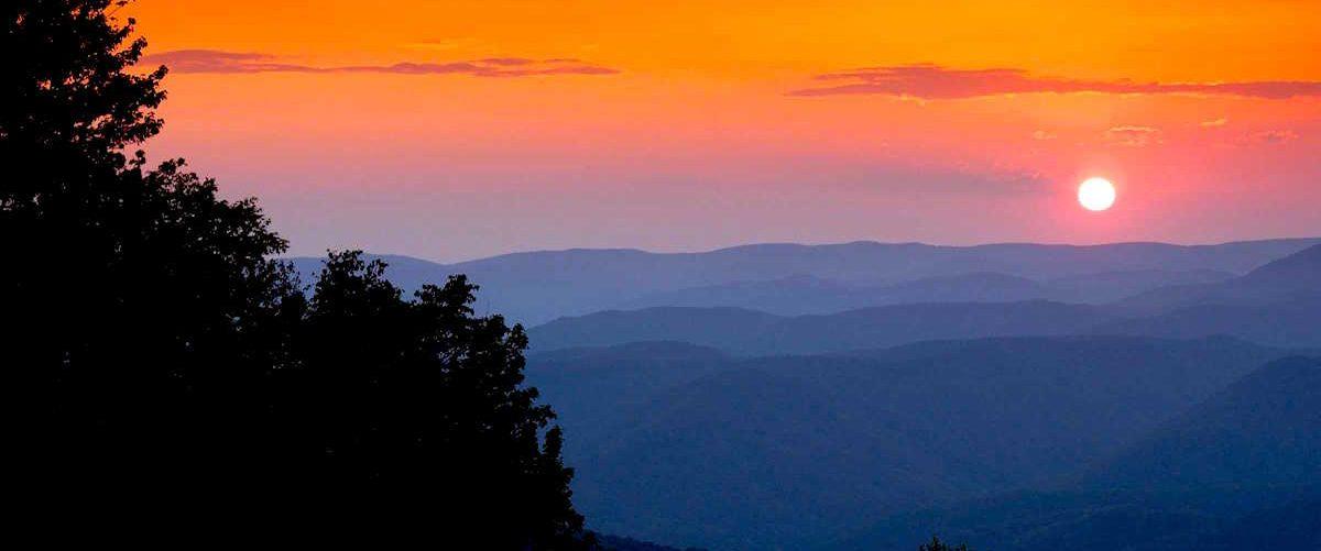 Sunset in Tucker County, WV