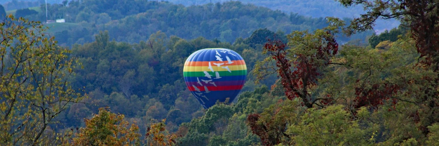 Up, up and away: This WV city sky will light up with hot air balloons image