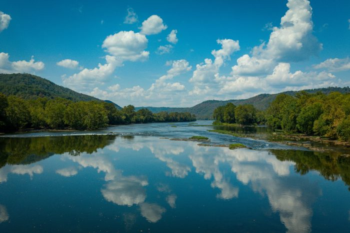 Bluestone Wildlife Management area and river