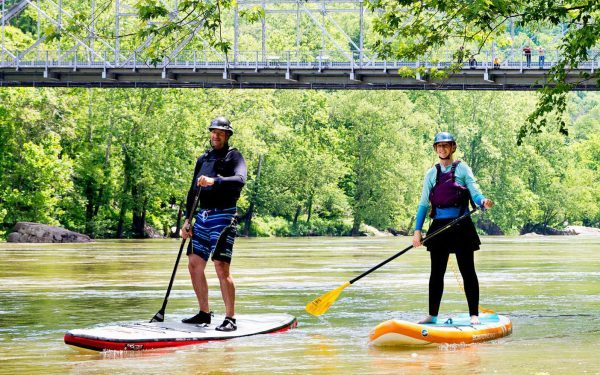SUP on the New River Gorge River, WV